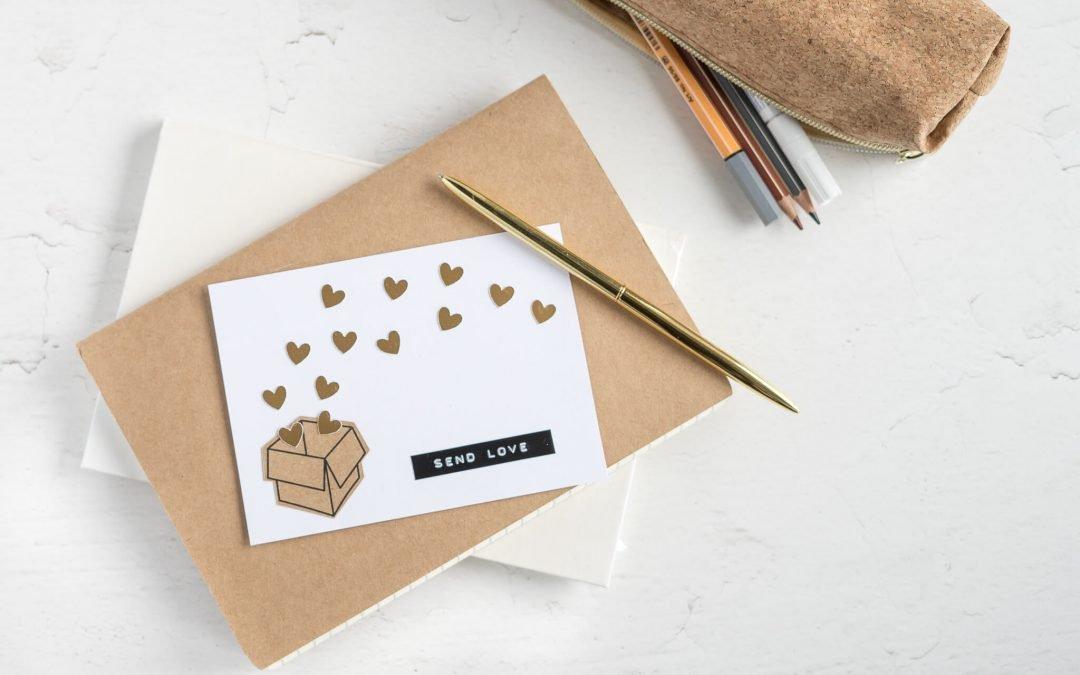 Valentinstagskarte – 3 süße Ideen inkl. Freebie