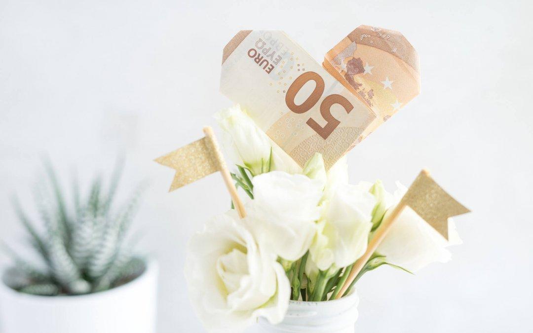 Geldherz falten – einfache Stepanleitung